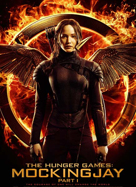 Image of the Mockingjay Part 1 film poster