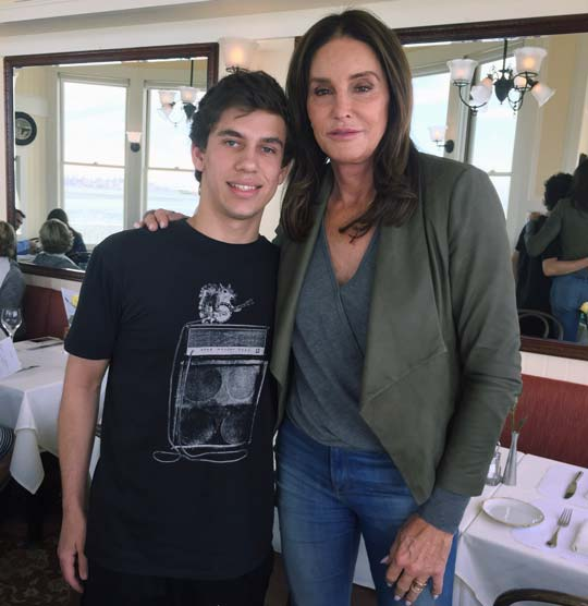 image of Caitlyn Jenner with FFW's Matt Geffen